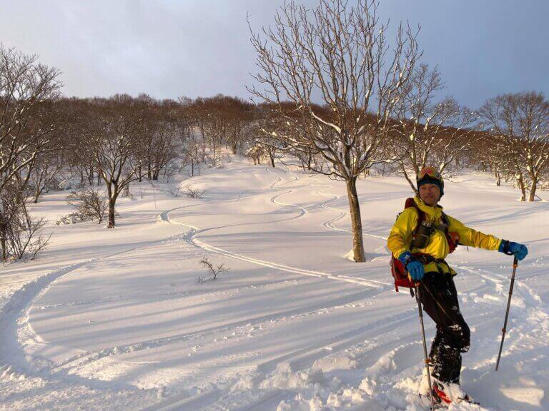 スキーヤー 堀田学さん